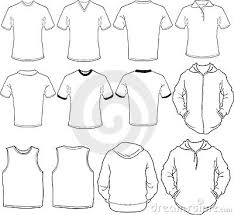 male shirts template 23363596 template of t shirts and polo shirt whith short sleeve stock on polo shirt design template