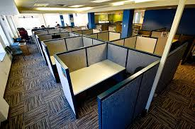 Office Space Time Loop From Open Plans To Cubicle Farms And Back Mesmerizing Office Cubicle Layout Design