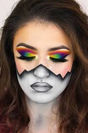 these extremely bright makeup looks will make you stand out at any party believe us all s will envy and all guys will be mesmerized