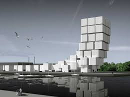 French architect. Jean Nouvel  Dunkirk Arts Quarter Competition .