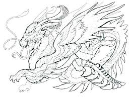 Free Dragon Coloring Pages Realistic Printable Sc Artigianelliinfo