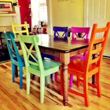 uncategorized brightly colored furniture in imposing interior nice multi colored dining room