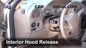interior fuse box location 2004 2007 buick rainier 2004 buick open hood how to 2004 2007 buick rainier