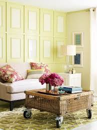 Featuring Benjamin Mooreu0027s 2013 Color Of The Year, Lemon Sorbet. Wall  MoldingMolding IdeasColorful Living ...