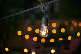 outdoor commercial string lights