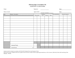 Expense Report Form Template Mcgill Expense Report Per Diem And Per Diem Request Form