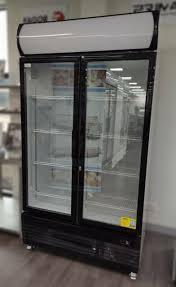 thermaster 932l double glass door