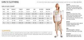 Eddie Bauer Girls Size Chart Eddie Bauer Size Chart For Coats Best Picture Of Chart