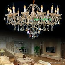 elegant living room crystal chandelier modern crystal chandelier chain luxury chandeliers led champagne crystal chandelier with pendant lamp led chandeliers