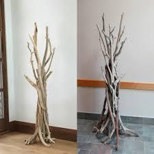 Vertically Standing Driftwood Coat Rack, Driftwood Coat Hooks, Wood Coat  Stand, Coat Rack, Driftwood Beach Decor, Driftwood Art