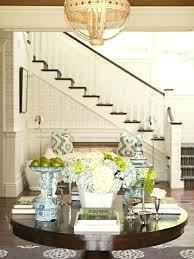round entry table ideas reasons to breathe round table in entry hall home enchanted home and
