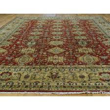11 9 x15 hand knotted 100 percent wool karajeh oversize oriental rug