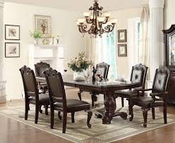 12 piece dining room set kiera 7 pc dining table and chair by crown mark of