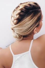 French Braid Updo Hairstyles Best 20 French Braids Ideas On Pinterest French Braid