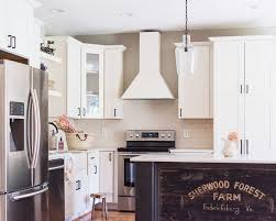 diy farmhouse kitchen creating our own kitchen island coffee bar