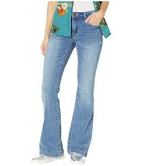 Kut From The Kloth Womens Stella Relaxed Flare Jeans W Wide