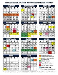 School Calendar 2015 2019 Template 2018 Calendar Broward School 2014 2015 School Calendar Color Page 1