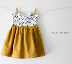 Baby Girl Dress Pattern