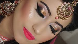 indian stani asian plete bridal makeup tutorial step by