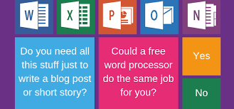 Microsoft Work Free 10 Completely Free Microsoft Word Alternatives For Writers