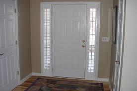 front door window treatmentsFront Doors Ergonomic Front Door Window Blind Front Door Side