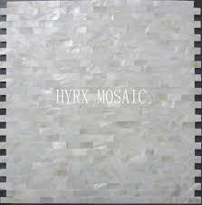 Großhandel 11 Quadratmeter Weiße Quadratische Schale Mosaik Fliesen