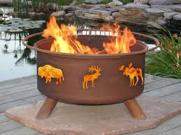 extraordinary outdoor living space decoration with outdoor fire pits delightful image of furniture and accessories
