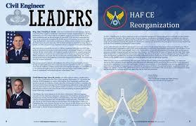 Afimsc Org Chart Civil Engineer Almanac Air Force Vol 22 No Pdf