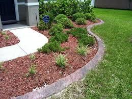 smartness design concrete landscape edging precast curbing syrup throughout pleasant diy garden borders landscaping bed lan