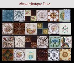 antique fireplace tile. mixed ornate antique tiles, fireplace tile sets \