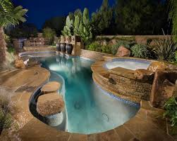 pool bar furniture. stone jacuzzi pool mediterranean with stacked planter square outdoor bar stools furniture