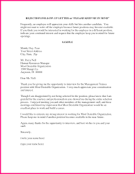Wonderful Job Rejection Letter After Interview Photos Example