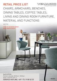 retail list chairs armchairs benches dining tables coffee tables living and dining room furniture material and functions 2018 18
