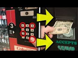 Free Money From Vending Machine Adorable HOW TO MAKE ANY VENDING MACHINE PAY YOU GET FREE MONEY YouTube