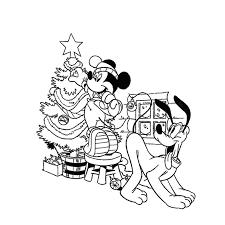 Disegni Topolino Natale Archives Disegni Da Colorare