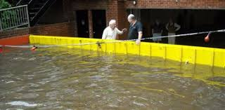 garage door flood barrierAutomatic Flood Protection for Garage Entrances  FloodBreak