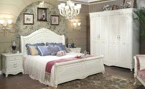 White Wood Bedroom Set 5 Piece Queen Bedroom Set With Solid Wood And ...