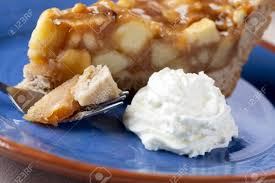 apple pie slice with whipped cream. Simple With Slice Of Fresh Homemade Apple Pie With Whipped Cream Stock Photo  10054221 And Apple Pie With Whipped Cream O