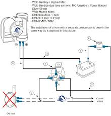 wolo train horn wiring diagram wolo wiring diagrams