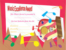 Certificate Of Achievement Templates Free Extraordinary Best Guitarist Award Certificate Template