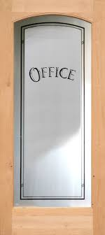 glass door for office. 801 Etched Glass Full Lite Interior Arched Office Door For S