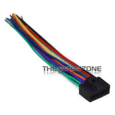 16 pin wire harness for select 2010 up jvc car radio cd player stereo receiver
