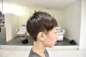 刈り上げ女子のベリーショート ショートカットとくせ毛が得意なくせ