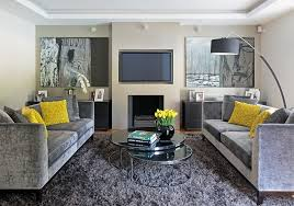 yellow and grey furniture. Modest Decoration Grey And Yellow Furniture Living Room Design Ideas Couch Conclusion Therefore When R