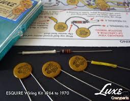 1964 70 fender esquire 05mfd 50v cap resistor kit