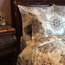cotton henna tattoo duvet cover by sin in linen mandala inspired tapestry style bohemian bedding for a gypsy oasis bring exotic travel to your bed