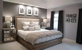 Two Tone Gray Bedroom Grey ...