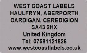 silver address label silver address return labels personalised