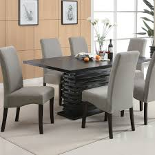 latest dining tables: latest dining room furniture black wooden unique dining tables