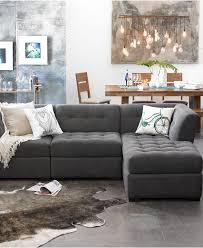 fortable modular sectional sofa for modern living room furniture design elegant gray modular sectional sofa